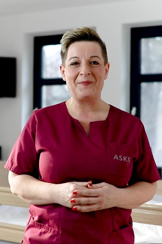 Pflegefachfrau in der Intensivpflege