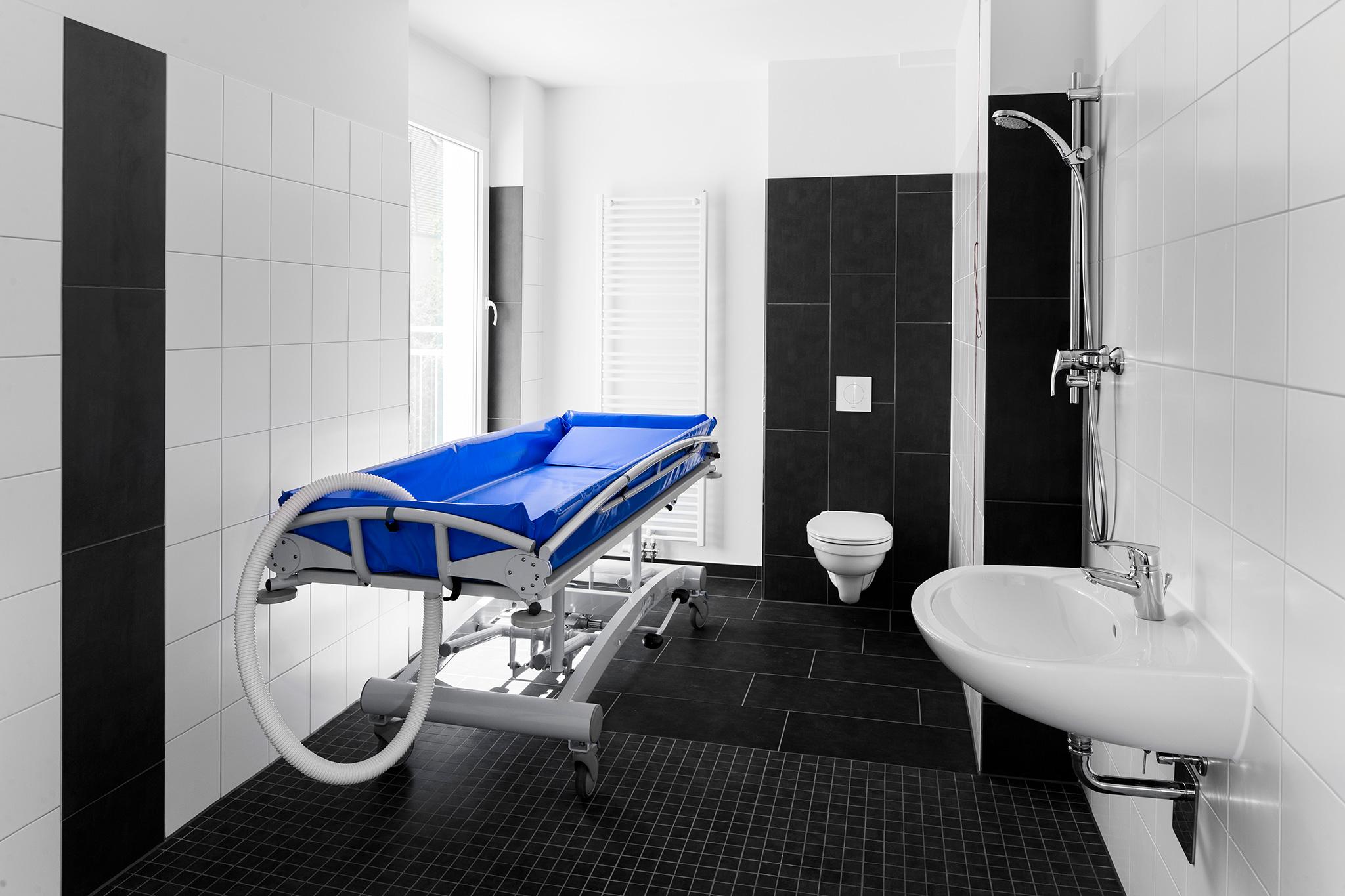 moderne sanitäre Einrichtungen
