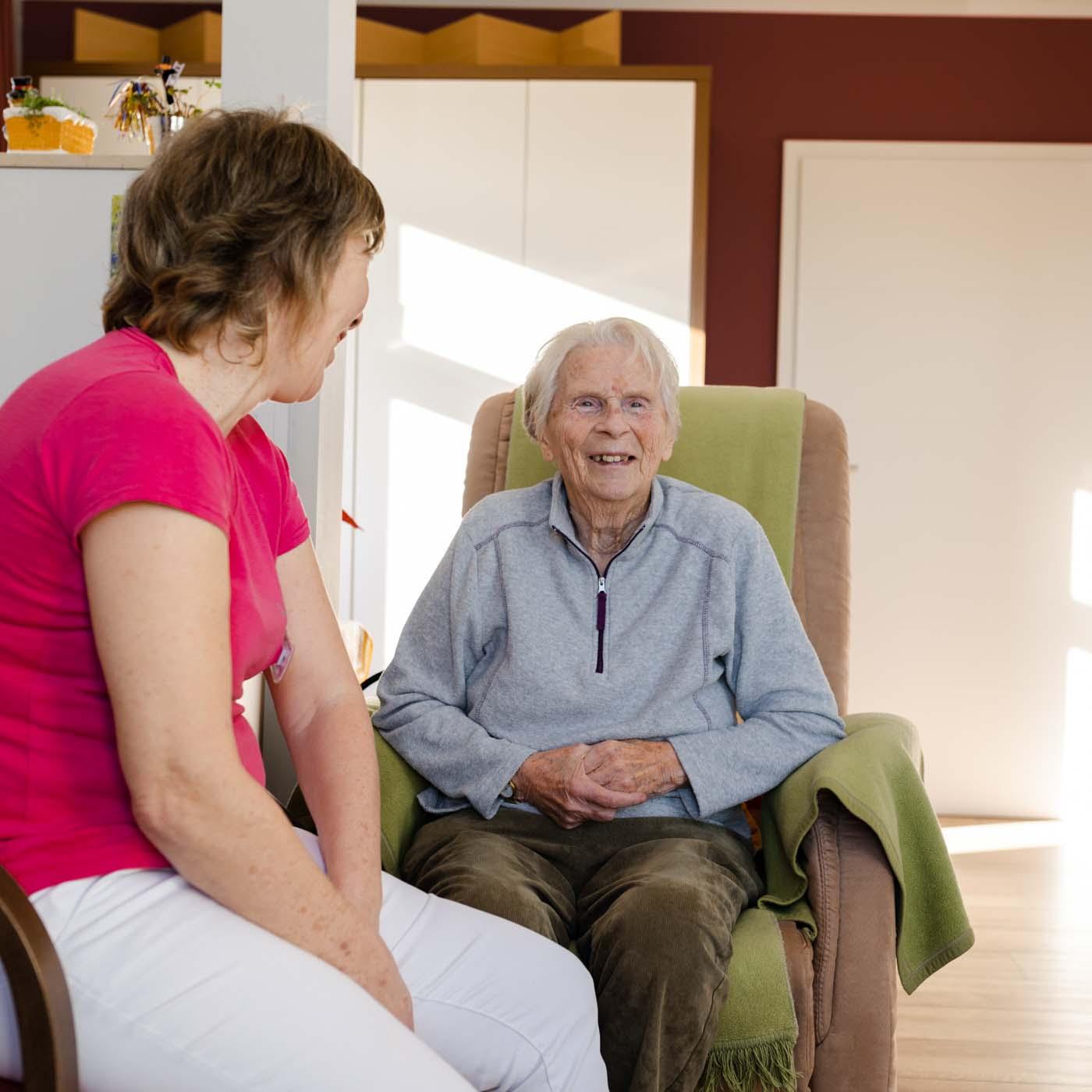 Ergotherapie für ältere Menschen